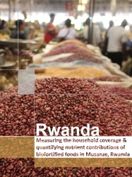 Measuring the household coverage and quantifying nutrient contributions of biofortified foods in Musanze, Rwanda